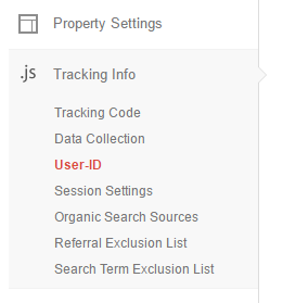 enabling the user explorer user id tracking